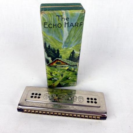Harmonica Echo Hohner Bell Metal Reeds