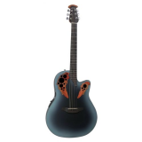 OVATION CELEBRITY ELITE MID CUTAWAY REVERSE BLUE BURST